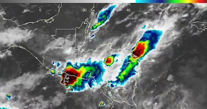 Sistema de Vaguada influenciará lluvias para este lunes