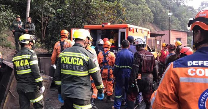 Explosión en mina de Colombia deja nueve muertos