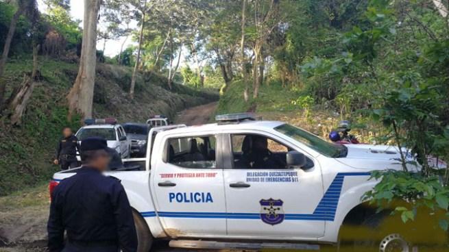 Asesinan a balazos a 2 hombres en finca Villa Montes en Colon en La Libertad