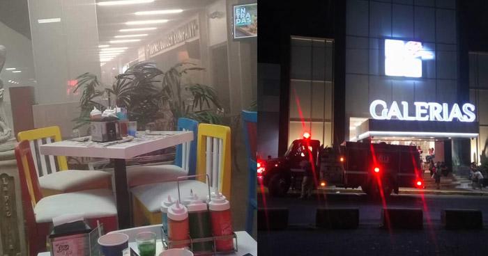 Explosión y emanación de humo activó las alarmas en centro comercial de San Salvador