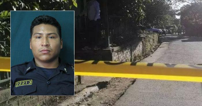 Condenan a pandilleros que asesinaron a un agente de la PNC en La Libertad