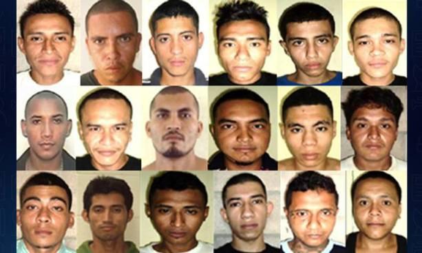 18 pandilleros son condenados a prisión por los delitos de homicidio y homicidio tentado