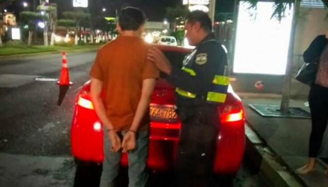 Autoridades capturan a 21 conductores ebrios durante el fin de semana