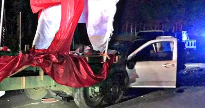 Detienen a conductor ebrio que atropelló a un peatón, un motociclista y dañó una carroza
