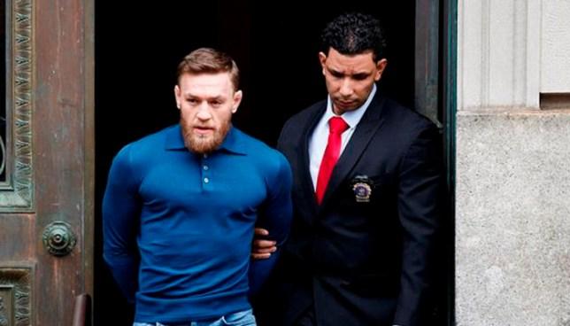Conor McGregor fue arrestado, por agresión y vandalismo, por la policía de Nueva York
