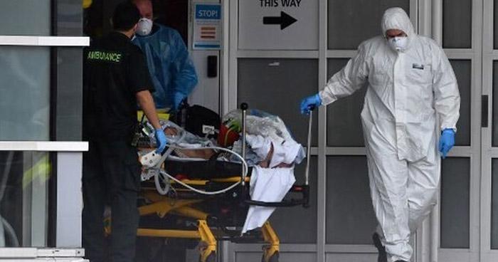 Mueren 596 personas a causa de COVID-19 en Reino Unido