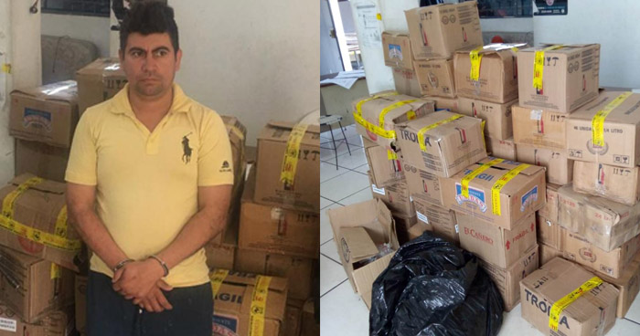 Capturado por contrabando de mercadería en Ciudad Arce, La Libertad