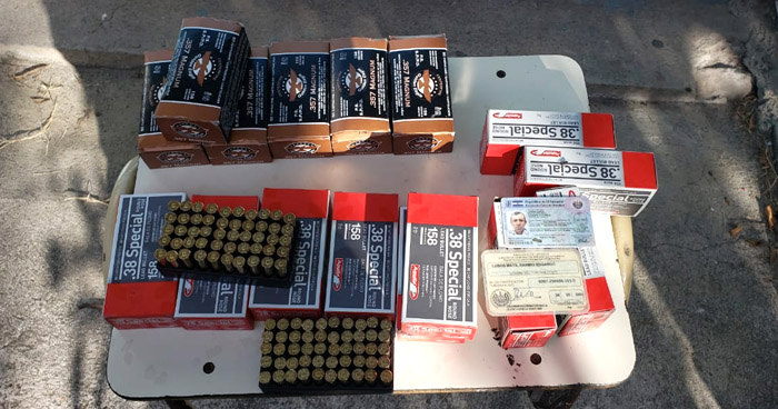 Incautan 16 cajas de munición que ingresaban por punto ciego de Matalapa, Metapán