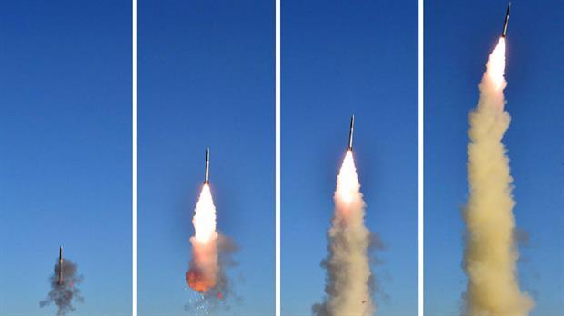 Corea del Norte lanzó un misil que cayó en aguas de Japón