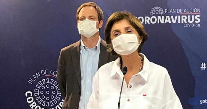 Chile detecta 419 nuevos casos de COVID-19