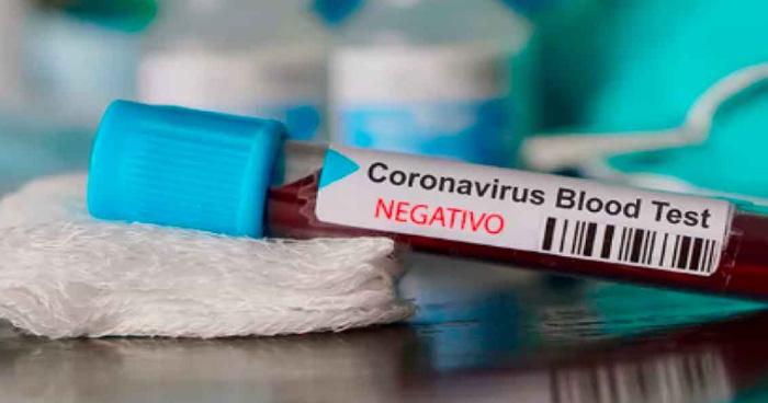 Resultan NEGATIVAS pruebas de pacientes sospechosos de COVID-19