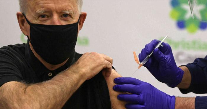 Presidente electo de EE.UU. recibe la segunda dosis de la vacuna contra el COVID-19