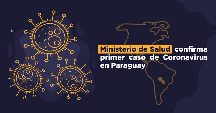 Paraguay confirmó hoy su primer caso de Coronavirus