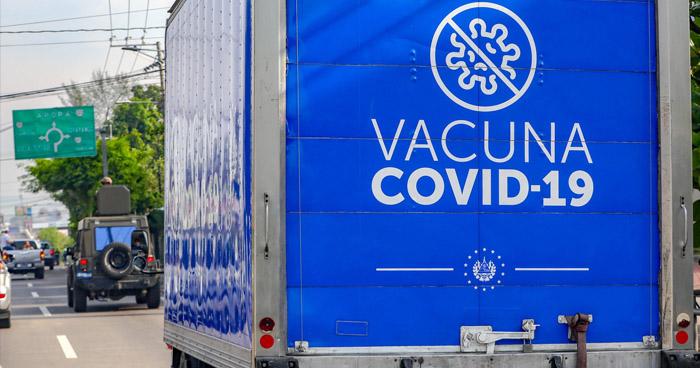 Trasladan 34.000 dosis de vacunas anti-COVID-19 hacia municipios de Honduras