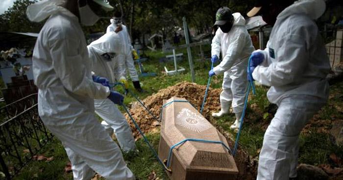 Brasil registra más de 1.200 muertes por COVID-19 en las últimas 24 horas