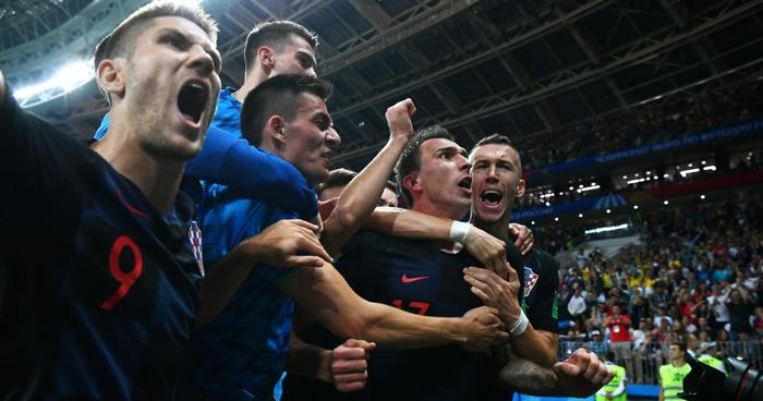 Croacia gana a Inglaterra en el tiempo extra y se clasifico a la final del mundial