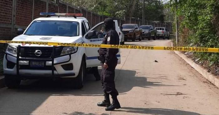 Cuádruple homicidio en Chalchuapa, Santa Ana