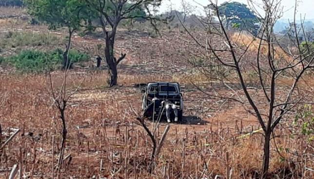 Un expolicía y el hijo de un Sargento, entre los 4 asesinados en El Congo, Santa Ana