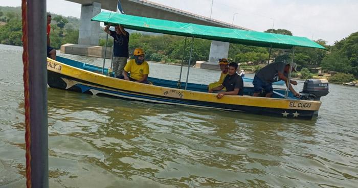 Hallan cuerpo de hombre que se extravió ayer en Río Lempa