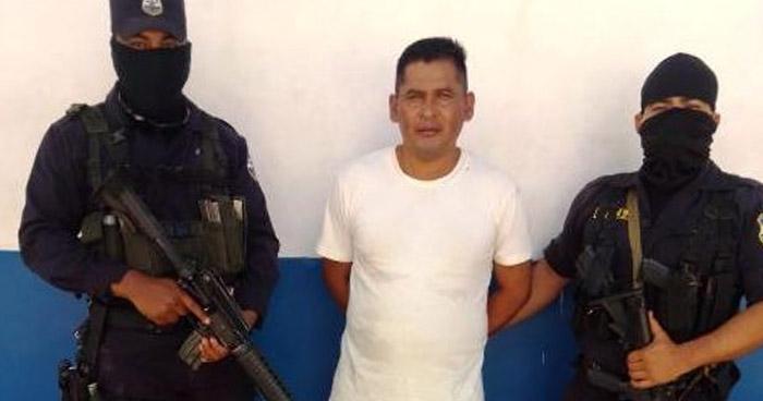 Capturan a homicida que operaba en El Carmen, Cuscatlán