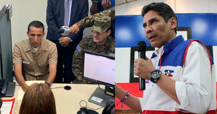 Denuncian a presidente de ARENA por hurto de armas propiedad de la Fuerza Armada