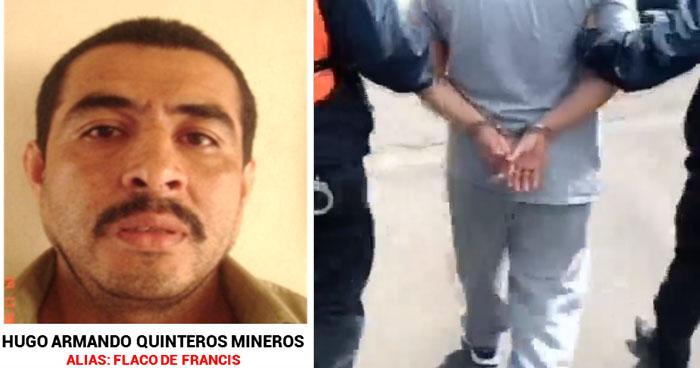 """""""Flaco de Francis"""", pandillero de los 100 Más Buscados fue deportado de México"""