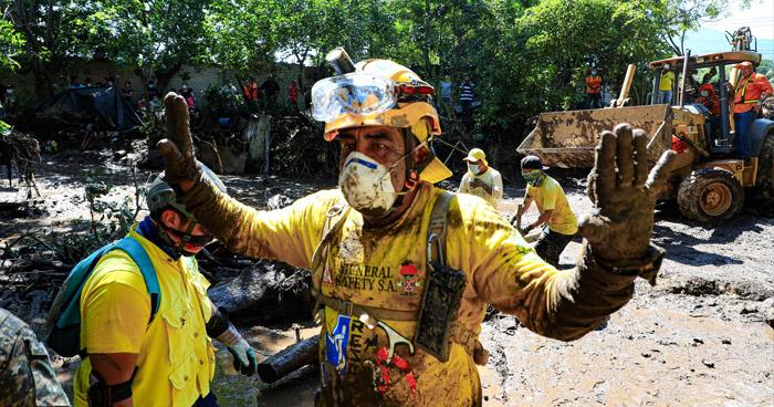 Declaran Alerta Roja en el municipio de Nejapa tras deslave