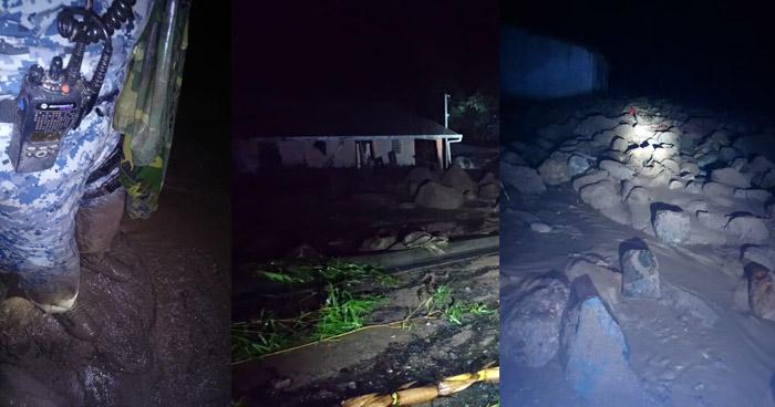 Derrumbes por lluvias provocan cierre de carreteras en diferentes puntos del país