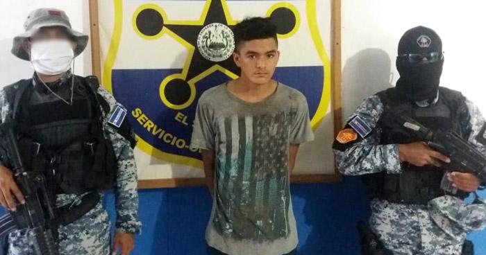 Pandillero detenido por violación en Anamorós