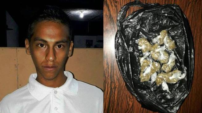 Capturan a joven con 11 porciones de marihuana en Ciudad Delgado