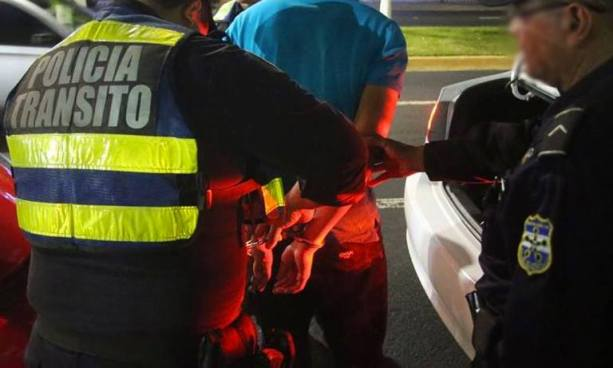Capturan a conductor temerario con más de 700 grados de alcohol en su organismo en La Libertad