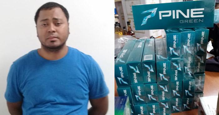Detienen a nicaragüense que ingresaba al país con cajas de cigarros