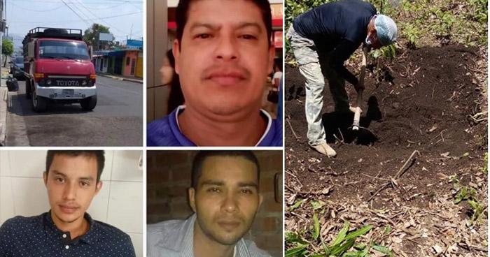 Pandillero capturado por desaparición y asesinato de tres comerciantes de leña
