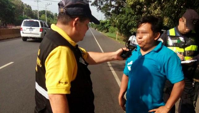 Más de 30 conductores peligrosos fueron detenidos durante el fin de semana