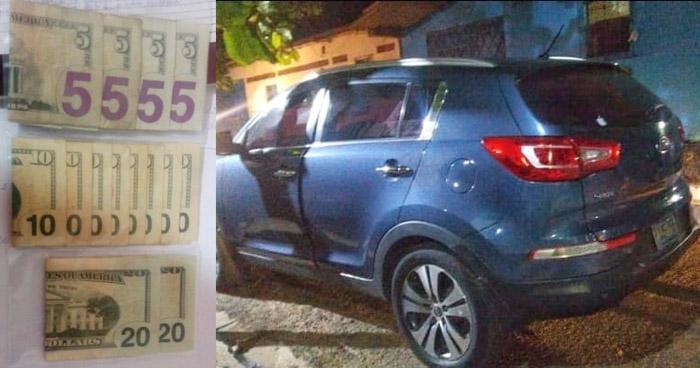 Detenidos tras perpetrar un robo en Santa Elena, Usulután
