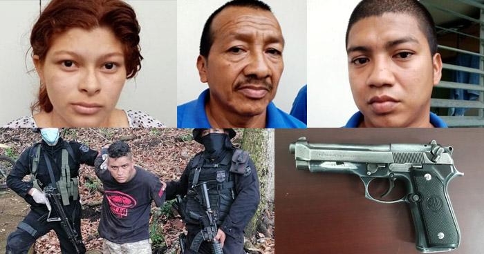 Capturados por amenazar y limitar la circulación de habitantes en Santa Tecla