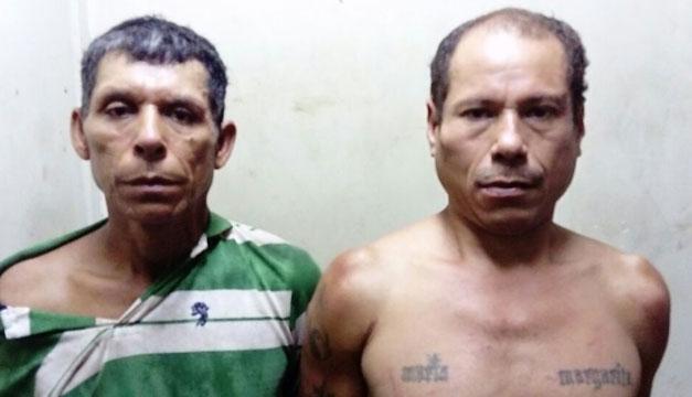 Capturan a veteranos pandilleros en San Vicente