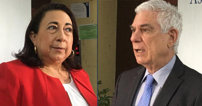 Diputados se niegan a recusar a diputados Yanci Urbina y Rodolfo Parker