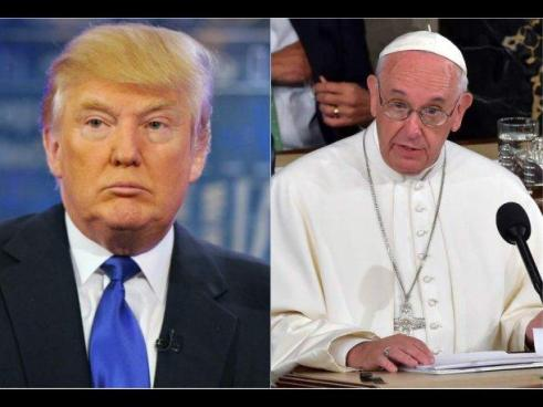 El papa Francisco se reunirá con Donald Trump