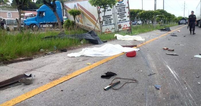 Dos mujeres fallecidas tras fuerte accidente de tránsito en carretera de Oro