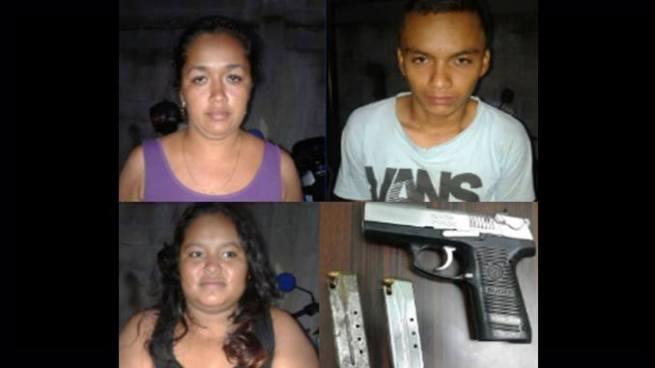 Arrestan a dos mujer y un hombre que se dedicaban a extorsionar a comerciantes