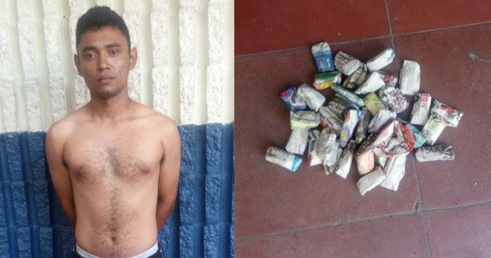 Sujeto fue capturado cuando distribuía droga en Ilopango