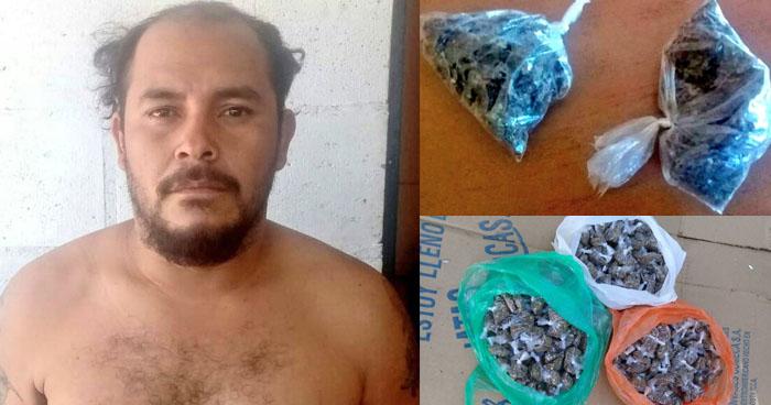 Incautan más de 300 porciones de marihuana que serían distribuidas en San Salvador y Ahuachapán