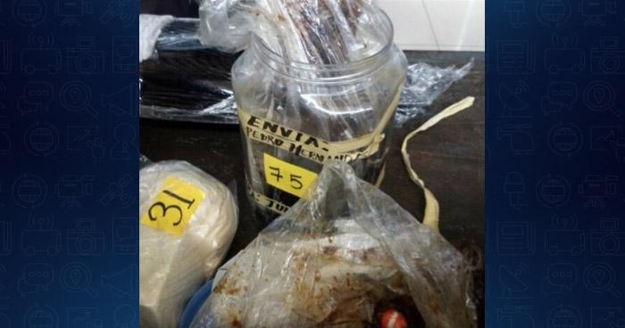 Descubren más de 80 porciones de cocaína oculta en botes con fruta con miel