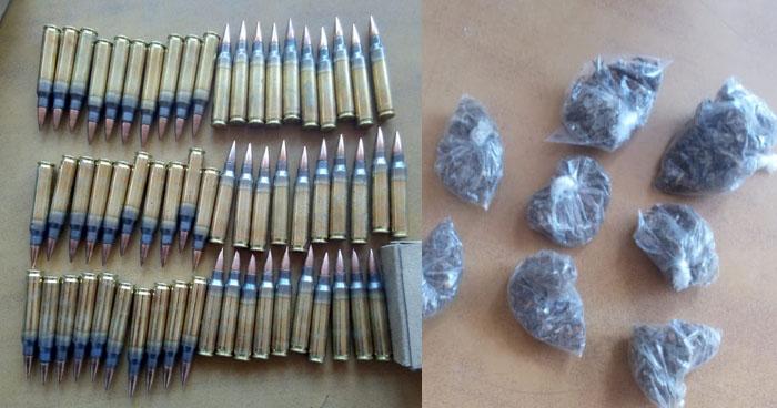 Incautan munición y drogas a un pandillero capturado en La Unión