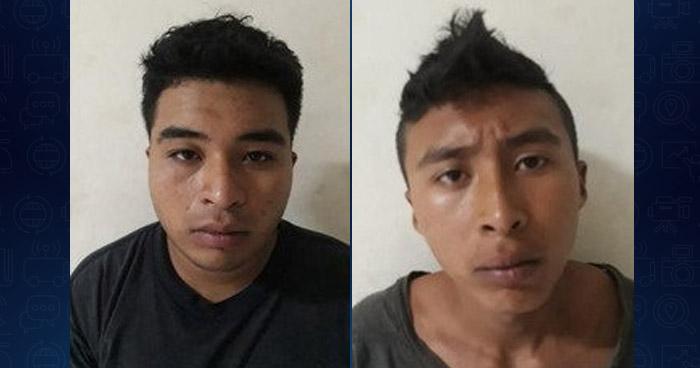 Capturan a dos distribuidores de droga que operaban en San Miguel