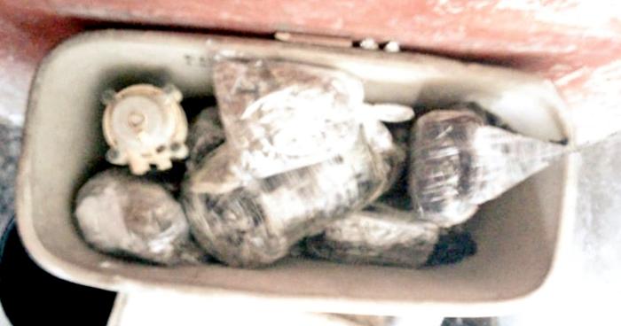 Abandonan droga en baño público del centro de Soyapango