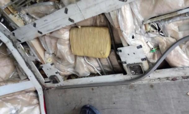 Encuentran una libra de Marihuana en hangar de Aeropuerto Mons. Romero