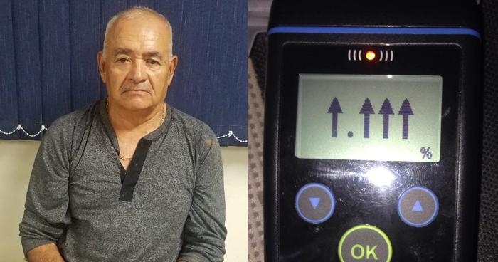Conductor ebrio detenido tras chocar con vehículos en La Paz
