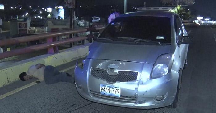 Conductor ebrio intentó evadir control vehicular en Bulevar Los Próceres